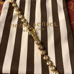Henri Bendel gold buckle bracelet